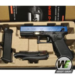 WE Two-Tone G18c Gen4 GBB Full Auto Airsoft Pistol